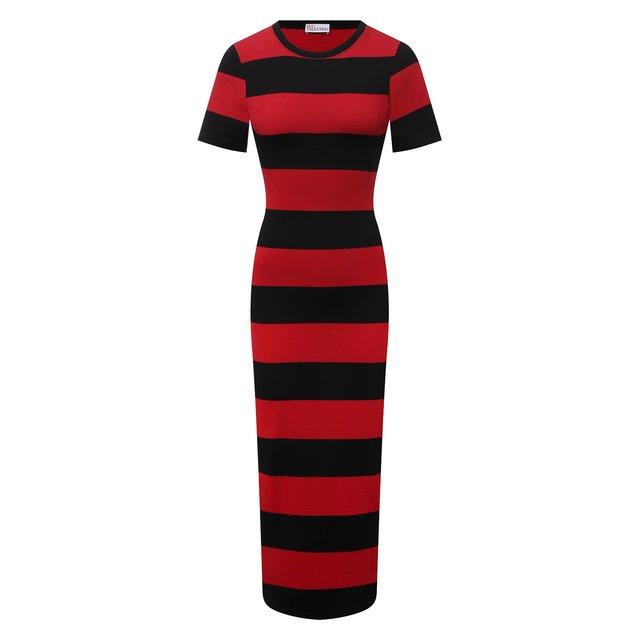 Хлопковое платье REDVALENTINO