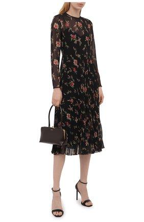 Женское платье REDVALENTINO черного цвета, арт. WR3VAAR0/602   Фото 2