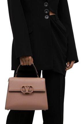 Женская сумка vsling medium VALENTINO бежевого цвета, арт. WW2B0J20/KGW | Фото 2