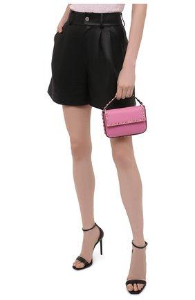 Женская сумка rockstud VALENTINO розового цвета, арт. WW2P0W07/B0L | Фото 2