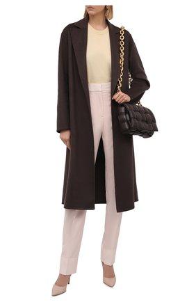 Женское кашемировое пальто KITON коричневого цвета, арт. D52632DK0568A   Фото 2