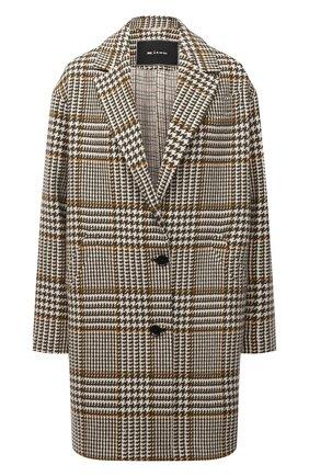 Женское шерстяное пальто KITON бежевого цвета, арт. D52610S06542   Фото 1