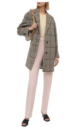 Женское шерстяное пальто KITON бежевого цвета, арт. D52610S06542   Фото 2