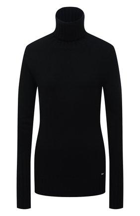 Женский кашемировый свитер KITON черного цвета, арт. D50728080   Фото 1