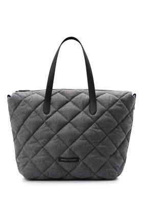 Женский сумка-шопер BRUNELLO CUCINELLI серого цвета, арт. MBFND1672P   Фото 1