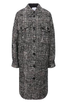 Женское пальто ERIKA CAVALLINI черно-белого цвета, арт. W1/P/P1WG02 | Фото 1