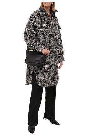 Женское пальто ERIKA CAVALLINI черно-белого цвета, арт. W1/P/P1WG02 | Фото 2