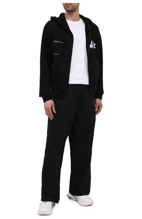 Мужской хлопковая толстовка OFF-WHITE черного цвета, арт. 0MBE001S21FLE004 | Фото 2