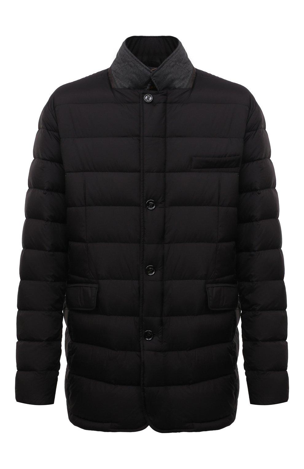Мужская пуховая куртка zayn-op MOORER черного цвета, арт. ZAYN-0P/M0UGI100307-TEPA017/60-68   Фото 1 (Кросс-КТ: Куртка, Пуховик; Мужское Кросс-КТ: пуховик-короткий; Рукава: Длинные; Материал внешний: Синтетический материал; Стили: Классический; Материал подклада: Синтетический материал)