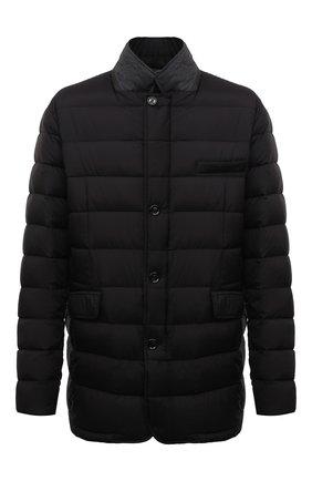 Мужская пуховая куртка zayn-op MOORER черного цвета, арт. ZAYN-0P/M0UGI100307-TEPA017/60-68 | Фото 1