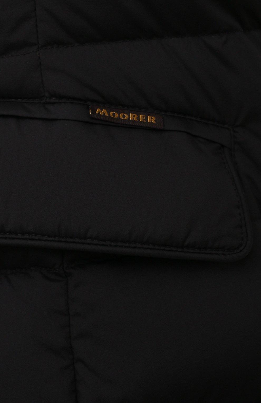 Мужская пуховая куртка zayn-op MOORER черного цвета, арт. ZAYN-0P/M0UGI100307-TEPA017/60-68   Фото 5 (Кросс-КТ: Куртка, Пуховик; Мужское Кросс-КТ: пуховик-короткий; Рукава: Длинные; Материал внешний: Синтетический материал; Стили: Классический; Материал подклада: Синтетический материал)