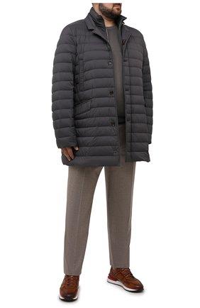 Мужская пуховик ponti-s3 MOORER темно-серого цвета, арт. P0NTI-S3/M0UPI100005-TEPA028/60-68 | Фото 2