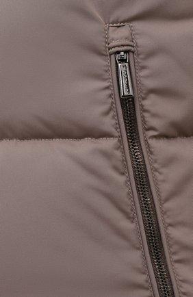Мужской пуховый жилет fayer-wk MOORER серого цвета, арт. FAYER-WK/M0UGI100180-TEPA022/60-68 | Фото 5 (Кросс-КТ: Куртка, Пуховик; Материал внешний: Синтетический материал; Материал подклада: Синтетический материал; Длина (верхняя одежда): Короткие; Стили: Кэжуэл)