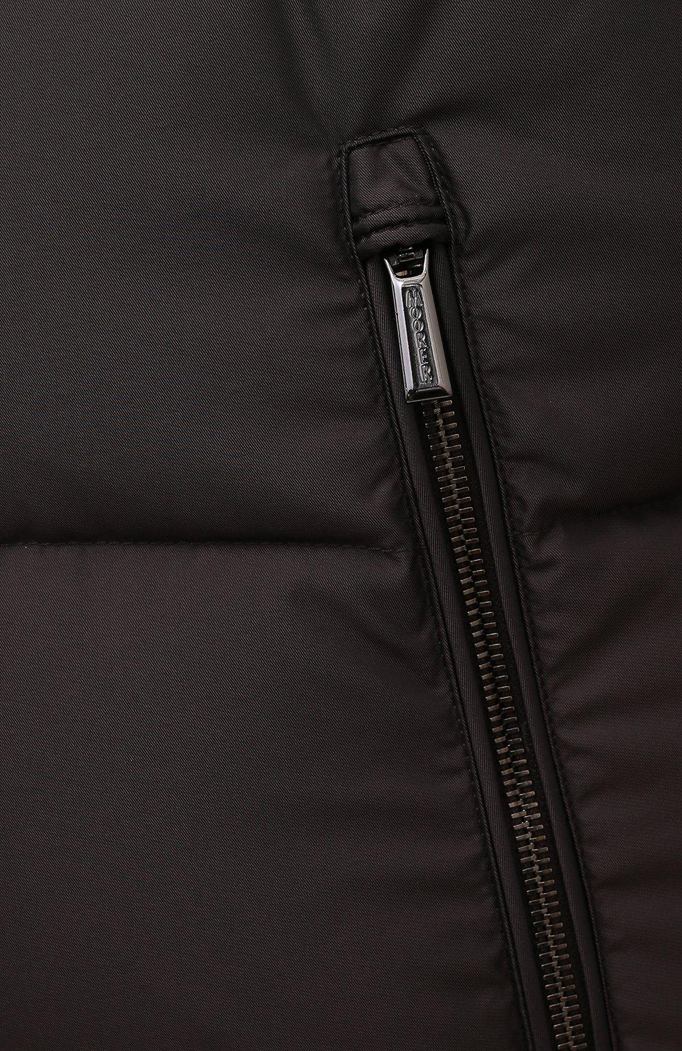 Мужской пуховый жилет fayer-wk MOORER коричневого цвета, арт. FAYER-WK/M0UGI100180-TEPA022/60-68   Фото 5 (Кросс-КТ: Куртка, Пуховик; Материал внешний: Синтетический материал; Материал подклада: Синтетический материал; Длина (верхняя одежда): Короткие; Стили: Кэжуэл)