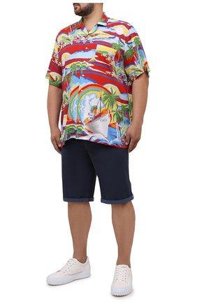 Мужская рубашка из вискозы POLO RALPH LAUREN красного цвета, арт. 711835514/5346/PRL BS | Фото 2