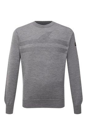 Мужской шерстяной свитер PAUL&SHARK серого цвета, арт. 11311333/FLV   Фото 1