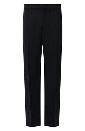Мужские шерстяные брюки VALENTINO темно-синего цвета, арт. WV3RBG817H6 | Фото 1