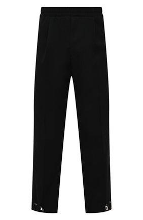 Мужские шерстяные брюки BERLUTI черного цвета, арт. R20TCU69-002 | Фото 1