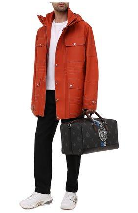 Мужская дорожная сумка BERLUTI черного цвета, арт. M224700 | Фото 2