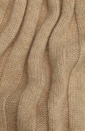 Мужской кашемировый шарф BRUNELLO CUCINELLI бежевого цвета, арт. M2240819 | Фото 2