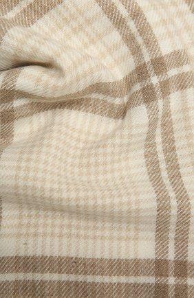 Мужской шарф из шерсти и кашемира BRUNELLO CUCINELLI бежевого цвета, арт. MSC659AV | Фото 2