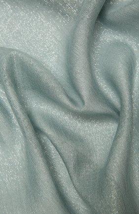 Женский шарф из смеси кашемира и шелка BRUNELLO CUCINELLI мятного цвета, арт. MSCDAR097P | Фото 2