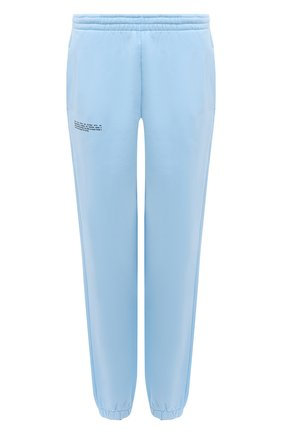Женские хлопковые джоггеры PANGAIA голубого цвета, арт. 20FPU01-011-FE0R02   Фото 1