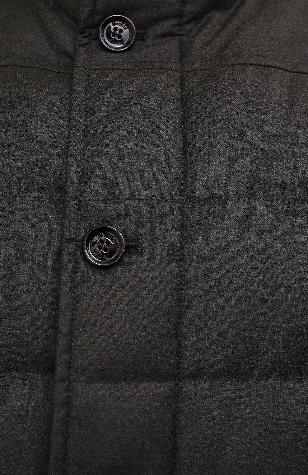 Мужской пуховый бомбер fantoni-shl MOORER темно-зеленого цвета, арт. FANT0NI-SHL/M0UGI100177-TEPA235/60-68   Фото 5 (Кросс-КТ: Куртка; Big sizes: Big Sizes; Мужское Кросс-КТ: пуховик-короткий; Рукава: Длинные; Принт: Без принта; Материал внешний: Синтетический материал; Длина (верхняя одежда): Короткие; Стили: Кэжуэл)