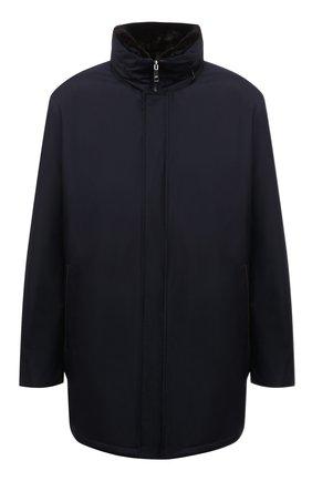 Мужская утепленная куртка PAUL&SHARK темно-синего цвета, арт. 11312422/IH7/3XL-6XL | Фото 1