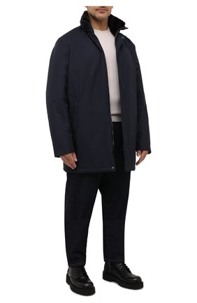 Мужская утепленная куртка PAUL&SHARK темно-синего цвета, арт. 11312422/IH7/3XL-6XL | Фото 2