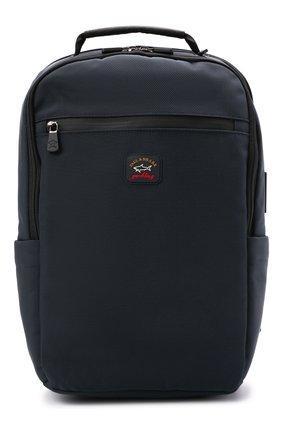 Мужской текстильный рюкзак PAUL&SHARK темно-синего цвета, арт. 11318118/HVB | Фото 1
