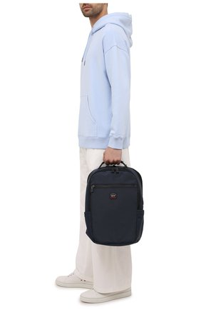 Мужской текстильный рюкзак PAUL&SHARK темно-синего цвета, арт. 11318118/HVB | Фото 2