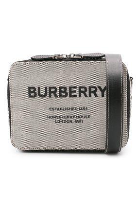 Мужская сумка BURBERRY серого цвета, арт. 8038258   Фото 5