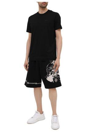 Мужские хлопковые шорты GIVENCHY черного цвета, арт. BM50WT3Y6U | Фото 2