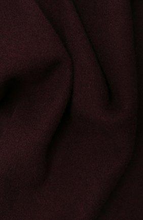 Мужской шерстяной шарф KITON бордового цвета, арт. USCIACX0296A | Фото 2