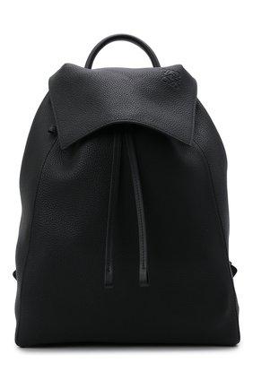 Мужской кожаный рюкзак LOEWE черного цвета, арт. B871J17X01 | Фото 1