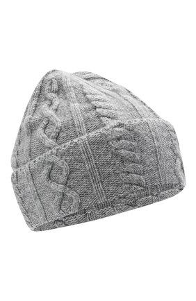 Мужская кашемировая шапка BRUNELLO CUCINELLI серого цвета, арт. M2294030 | Фото 1