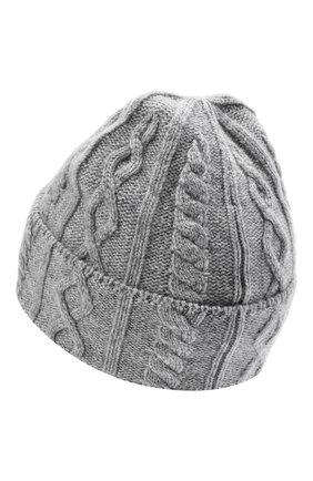 Мужская кашемировая шапка BRUNELLO CUCINELLI серого цвета, арт. M2294030 | Фото 2
