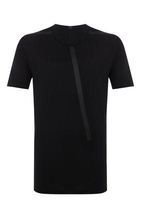 Мужская хлопковая футболка ISAAC SELLAM черного цвета, арт. BIAISE-JERSEY H22   Фото 1