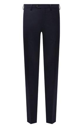 Мужские шерстяные брюки MARCO PESCAROLO темно-синего цвета, арт. SLIM80/ZIP/4423 | Фото 1