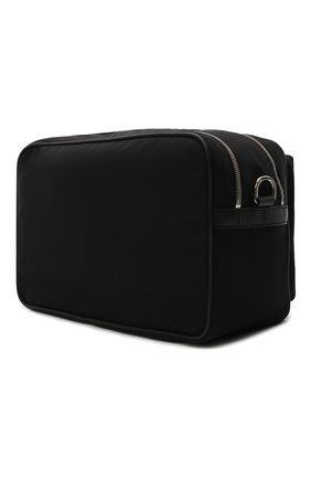 Мужская комбинированная сумка GIORGIO ARMANI черного цвета, арт. Y2M247/YI68E | Фото 3