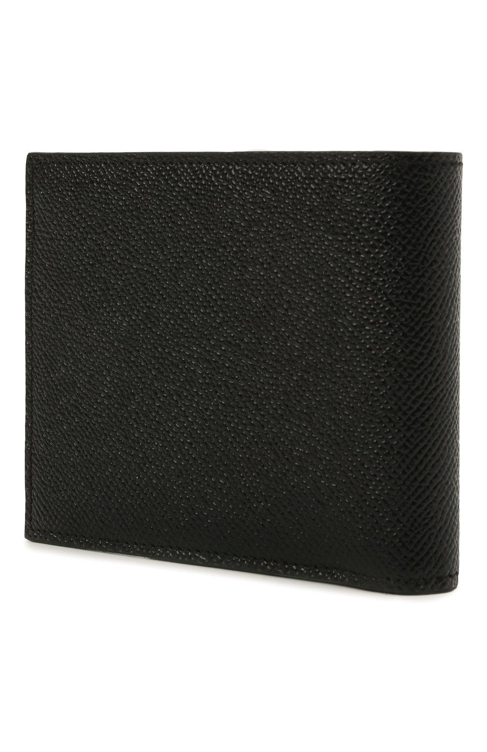 Мужской кожаное портмоне DOLCE & GABBANA черного цвета, арт. BP2463/AZ602 | Фото 2