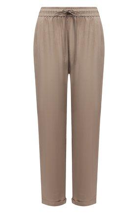 Женские брюки BOSS темно-бежевого цвета, арт. 50453894 | Фото 1