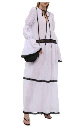 Женская хлопковая туника MASTERPEACE белого цвета, арт. MP-TN-WH-BL-01   Фото 2