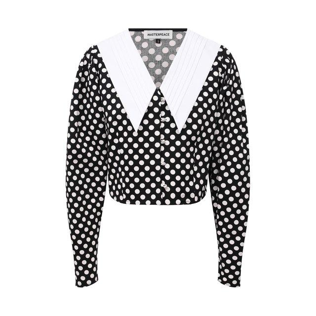 Хлопковая блузка Masterpeace
