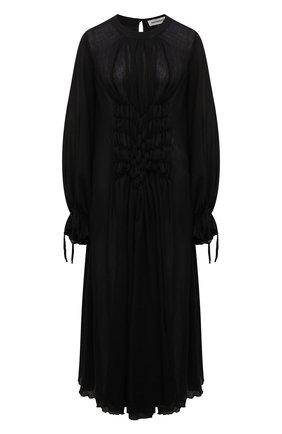 Женская хлопковая туника MASTERPEACE черного цвета, арт. MP-TN-BL-01   Фото 1