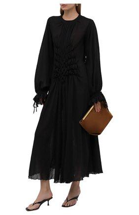 Женская хлопковая туника MASTERPEACE черного цвета, арт. MP-TN-BL-01   Фото 2