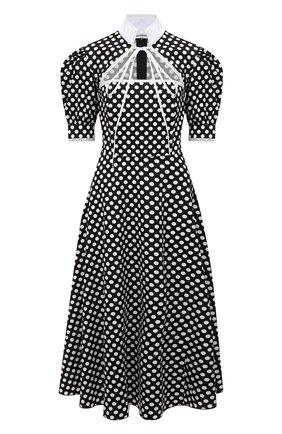 Женское хлопковое платье MASTERPEACE черно-белого цвета, арт. MP-PD-03   Фото 1