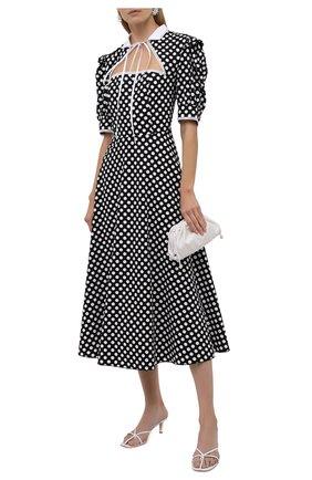 Женское хлопковое платье MASTERPEACE черно-белого цвета, арт. MP-PD-03   Фото 2