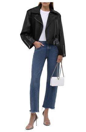 Женская кожаная куртка BATS черного цвета, арт. SS21_050 | Фото 2